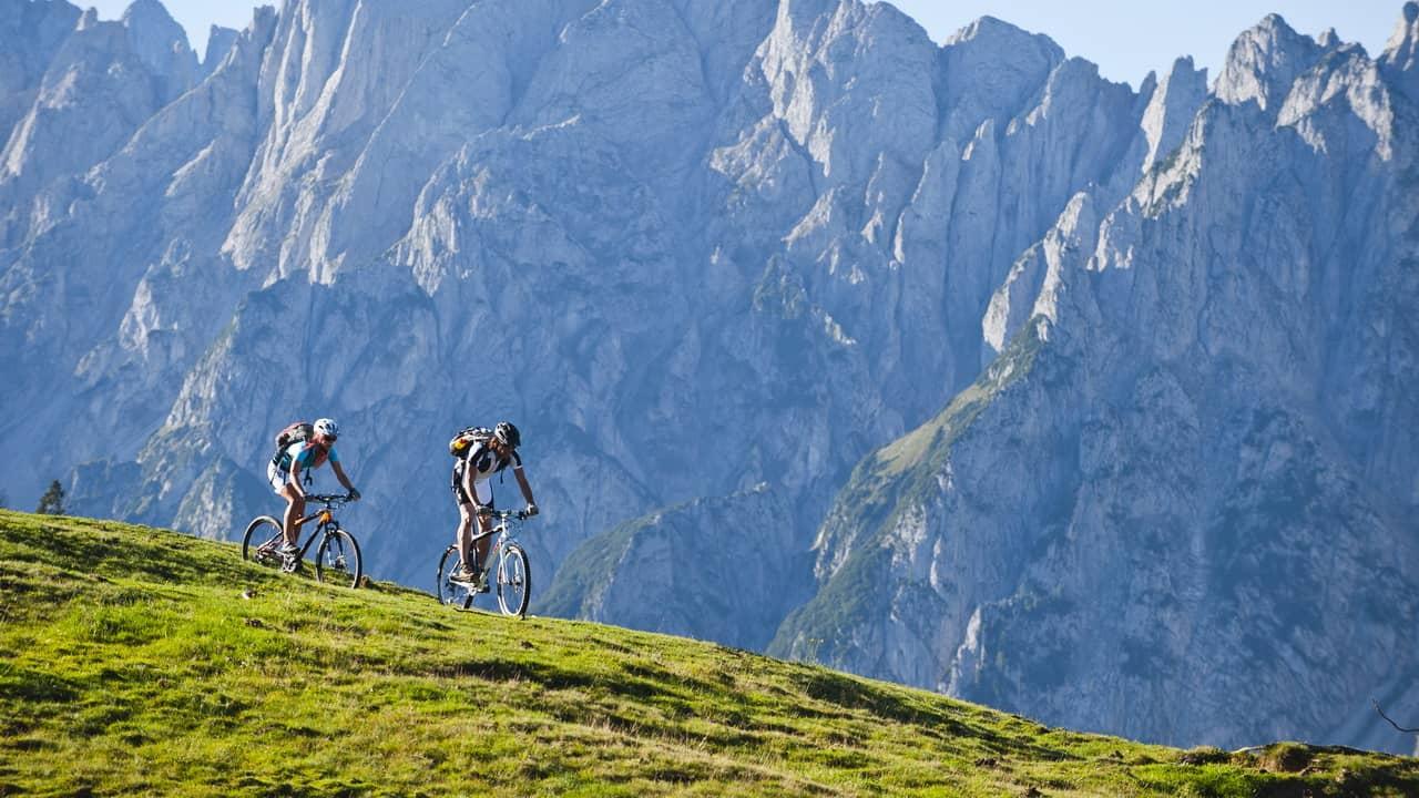 MTB i Salzkammergut - cykelsemester i Österrike
