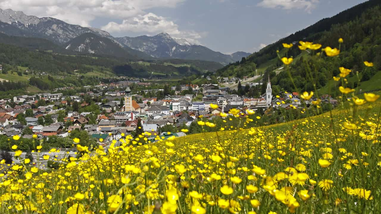Blick på Schladming