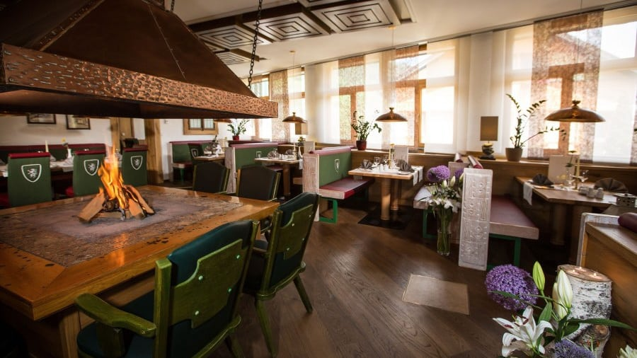 Sporthotel Royer Schladming á la carte restaurang Boende med Austria Travel