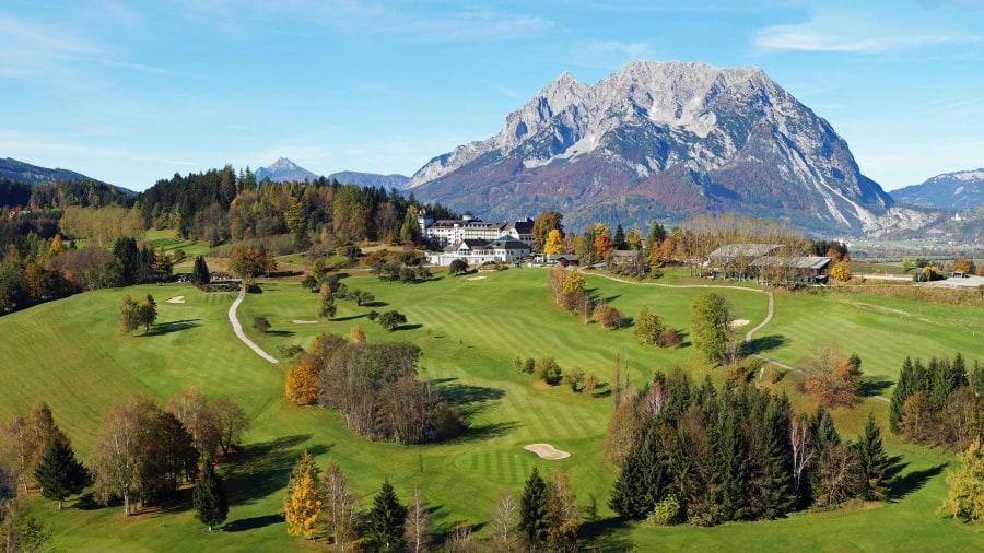Golfbanor - boende Austria Travel