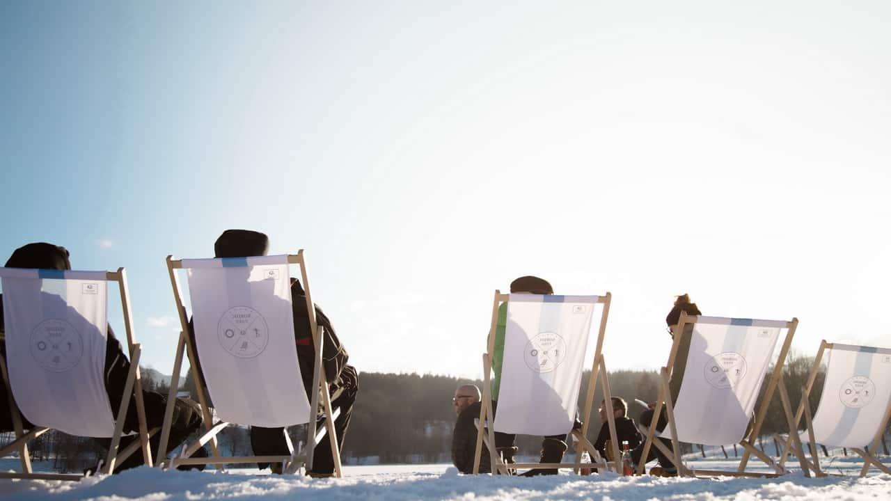 Skidpaus mingel - Saalfelden Leogang vintersemester alpin