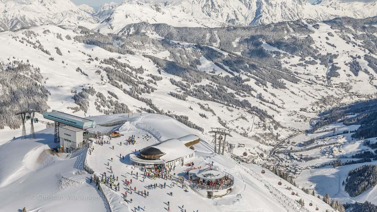 Saalbach Hinterglemm - Ett stort vintersport område med en mångfald av skidupplevelser