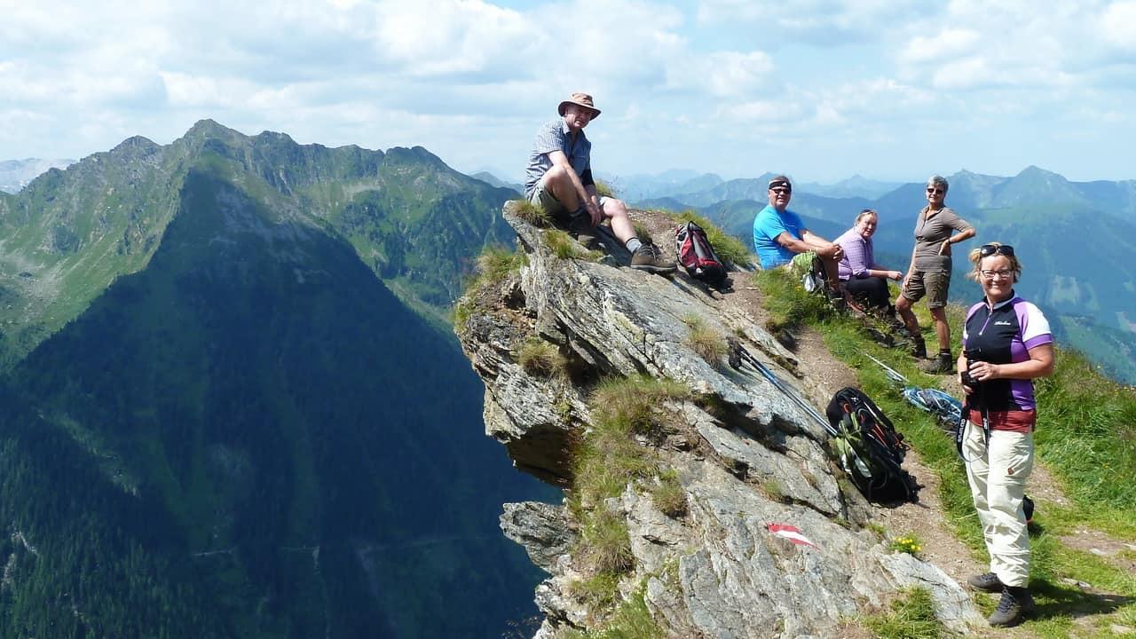 grupp vandring guide Schladming