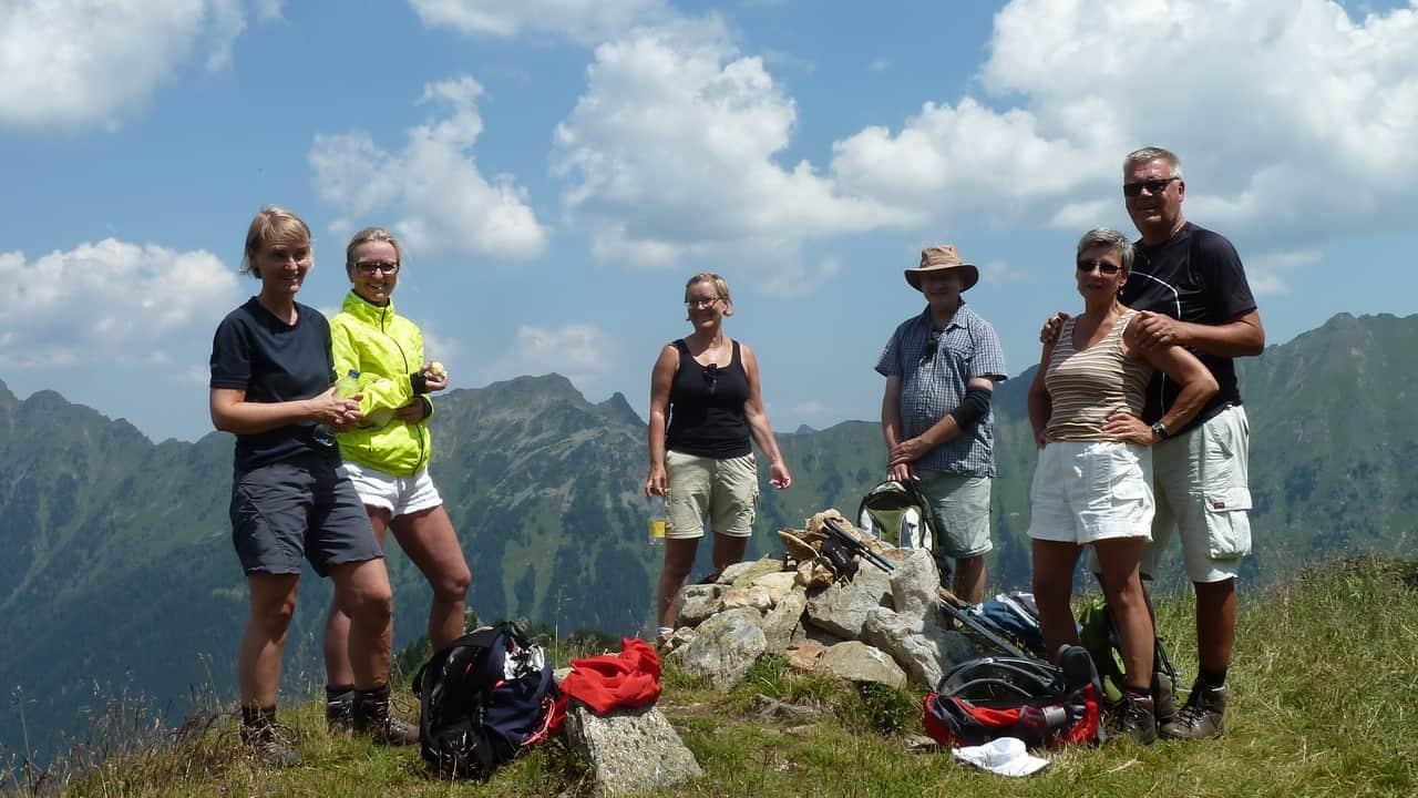 Glada vandrare! © Austria Travel - Rusner