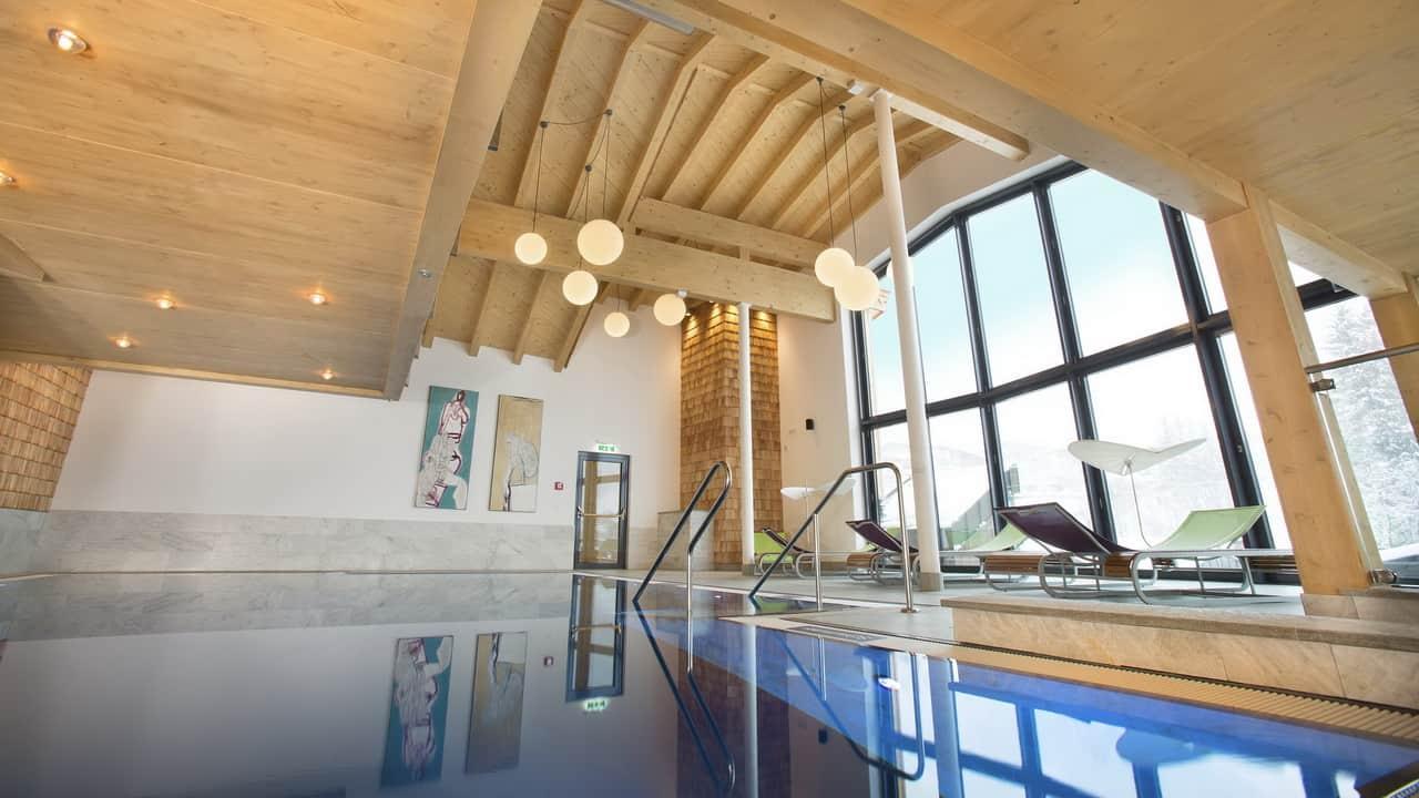 Glemmtalerhof swimmingpool Semester i Österrike