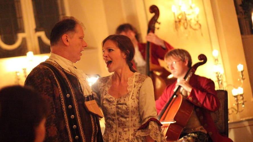 Mozart Dinner Concert i Salzburg