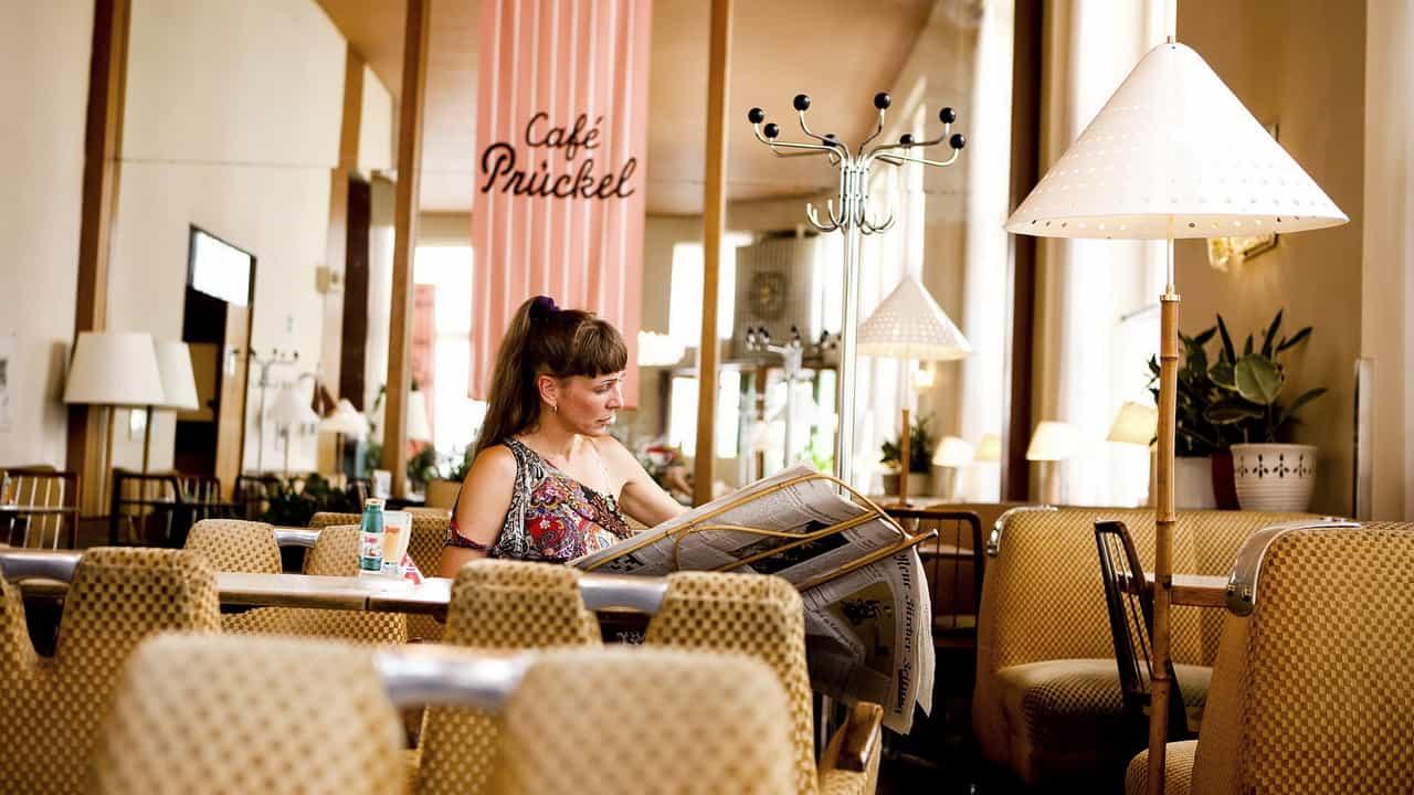 Qualitytime i en av Wiens många charmiga caféer Semester i Österrike