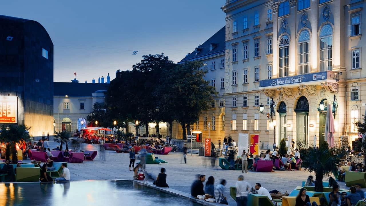 Museumskvarter i Wien