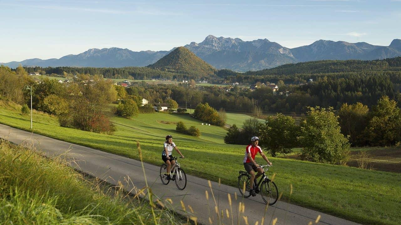 Upptäck vackra Wörthersee området på cykel semester i Österrike med Austria Travel