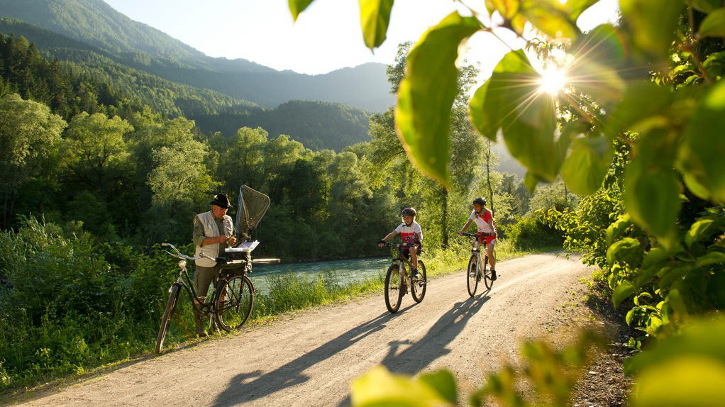 Drauradweg - Drautal cykelsemester i Österrike med Austria Travel