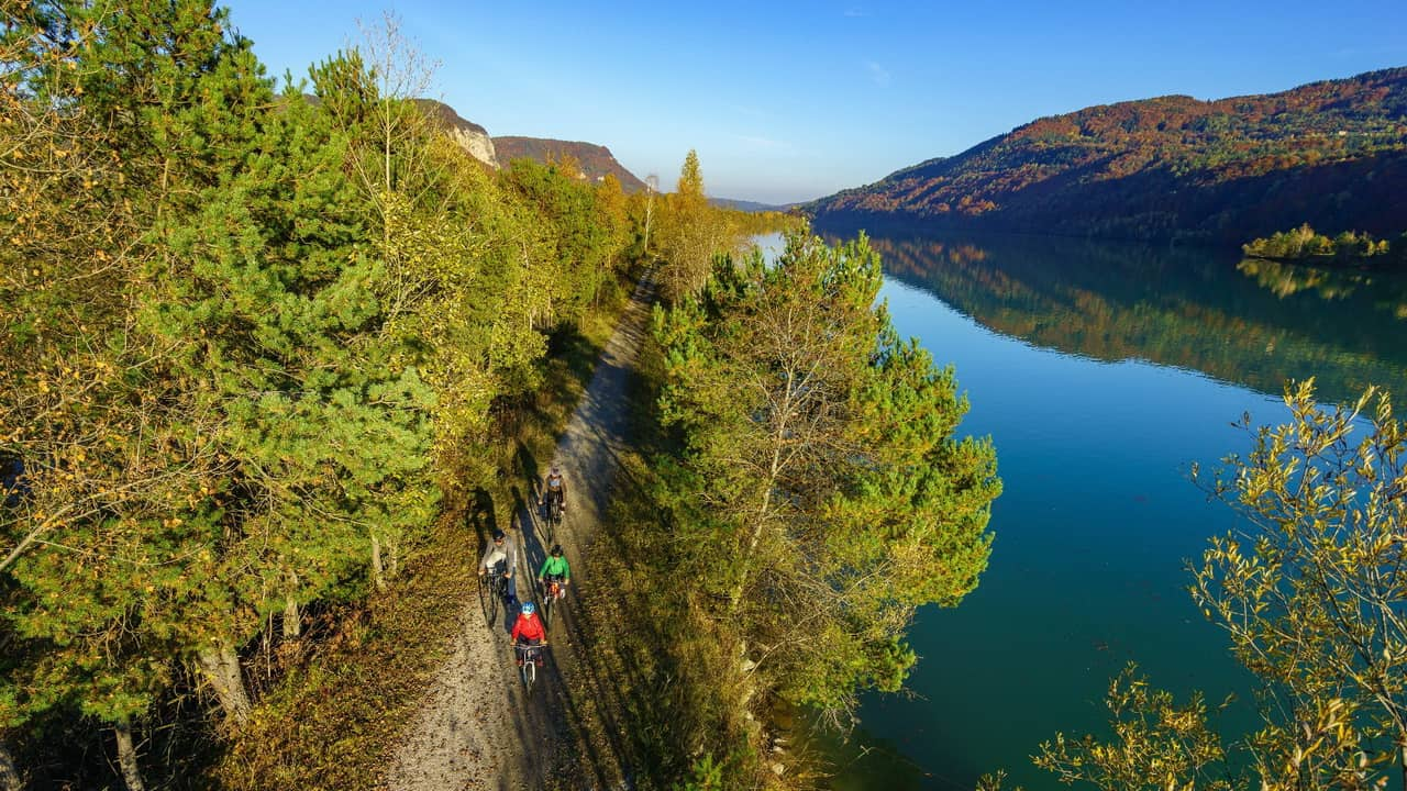 Drauradweg cykelsemester i Österrike med Austria Travel