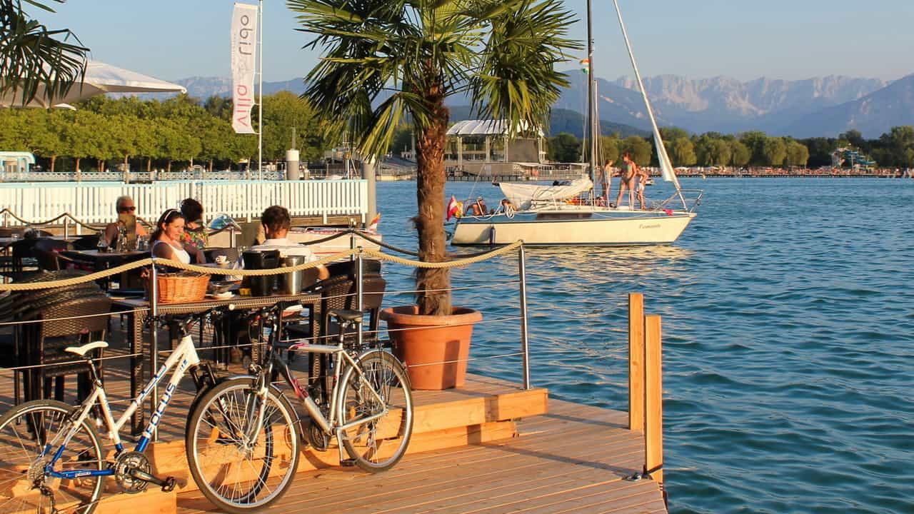 Cykling på Drau Radweg med Austria Travel