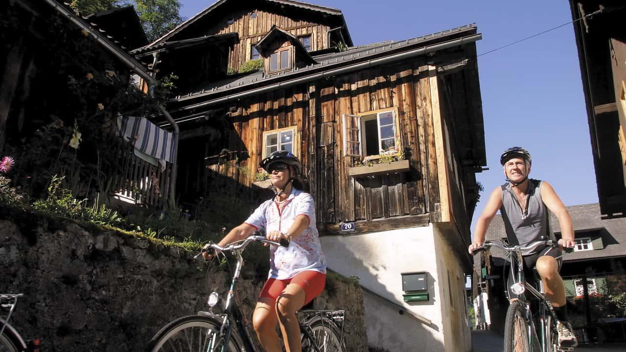 Cykla i Hallstatt - semester i Österrike med Austria Travel