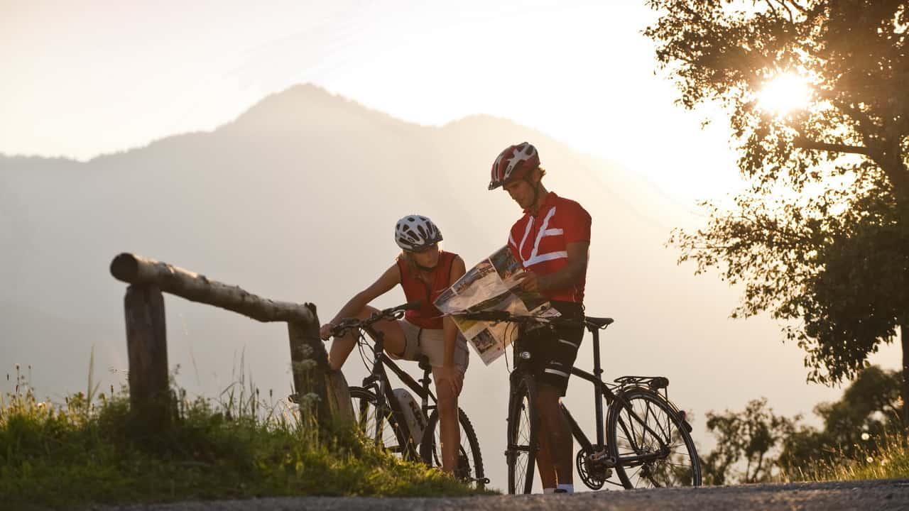 Salzkammergut Radweg cykelsemester semester i Österrike