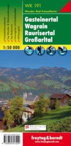 Vandra vid Bad Gastein Karta Austria Travel