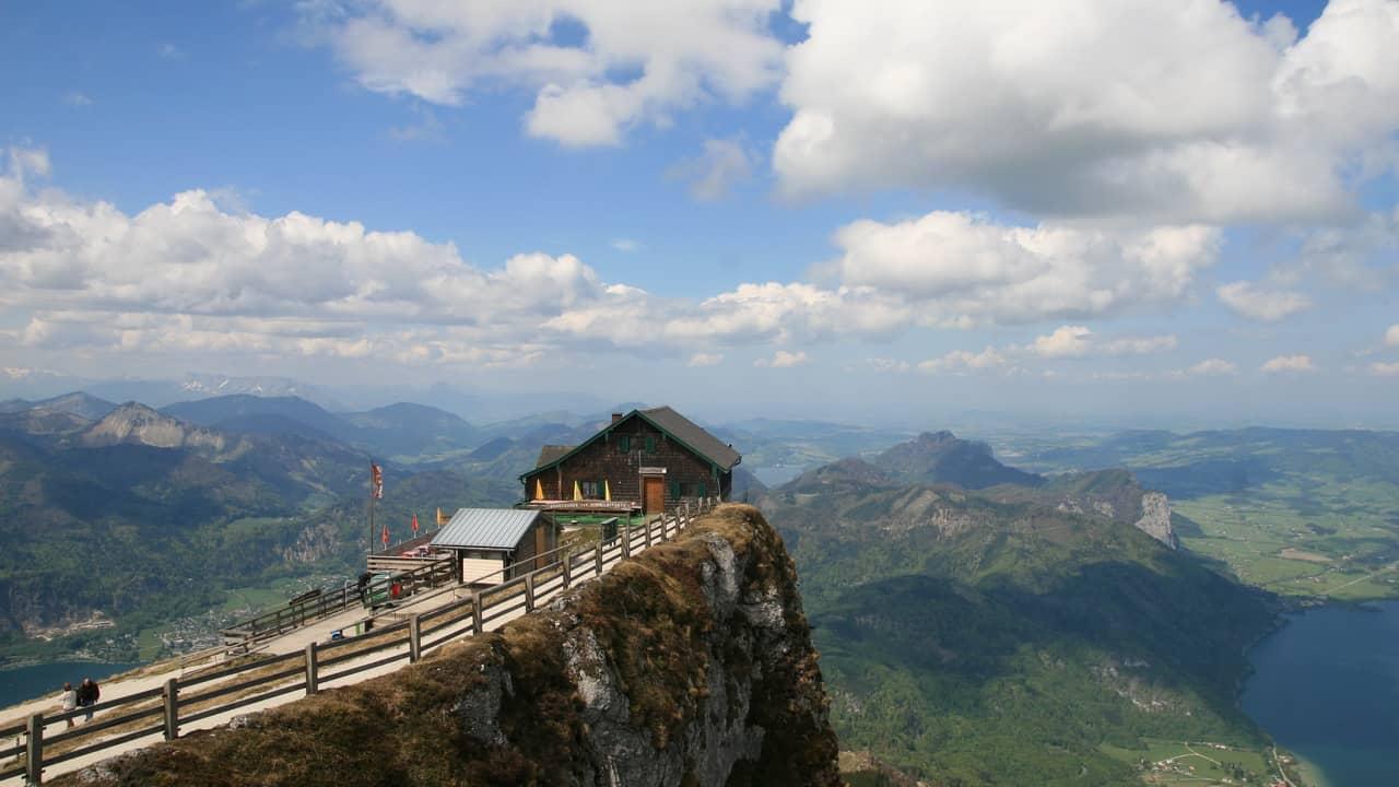 Schafberg Salzkammergut Österrike - semester i Österrike med Austria Travel