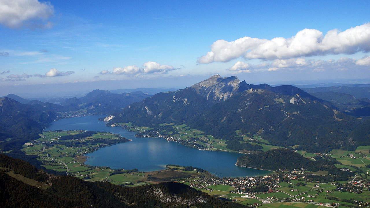 Vandra i Salzkammergut: Wolfgangsee Schafberg - Austria Travel