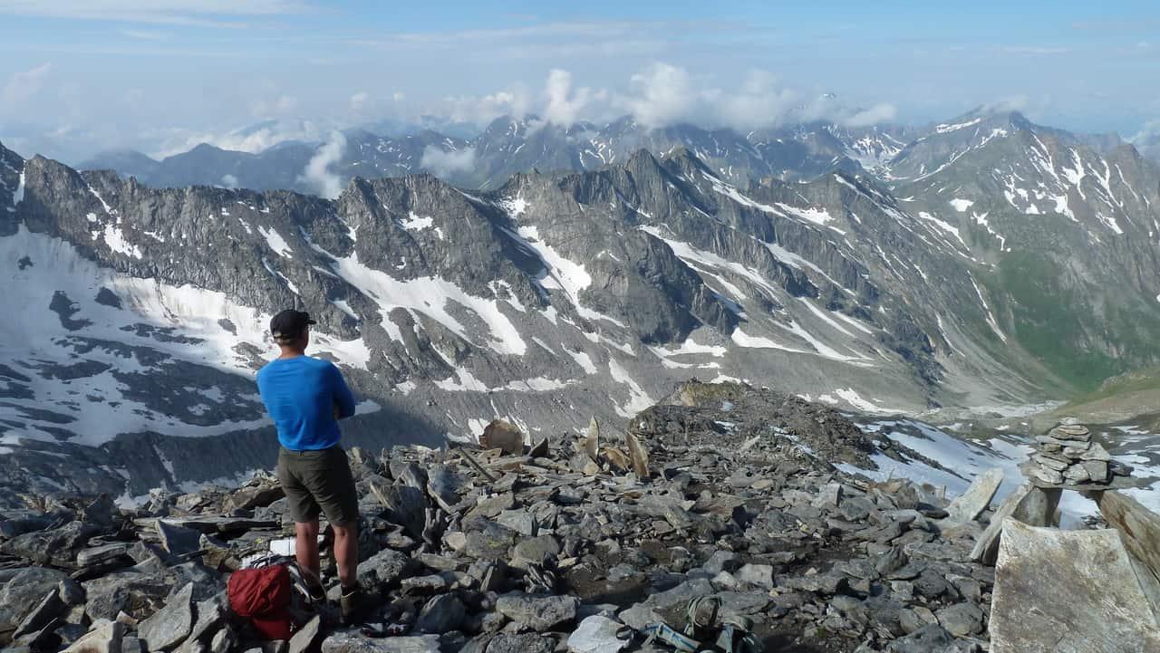 Alpin vandring på Berliner Höhenweg © Austria Travel – Rusner