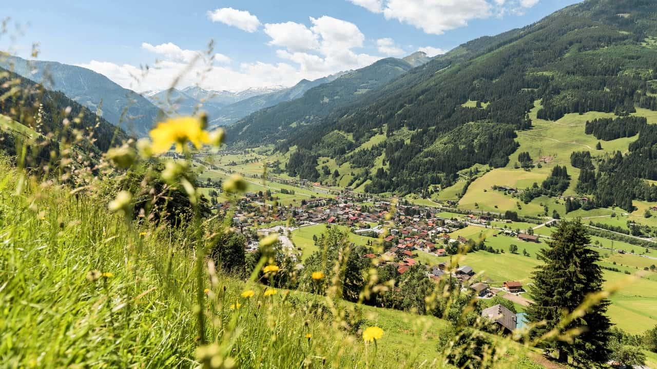 Utsikt på Dorfgastein Gasteinertal
