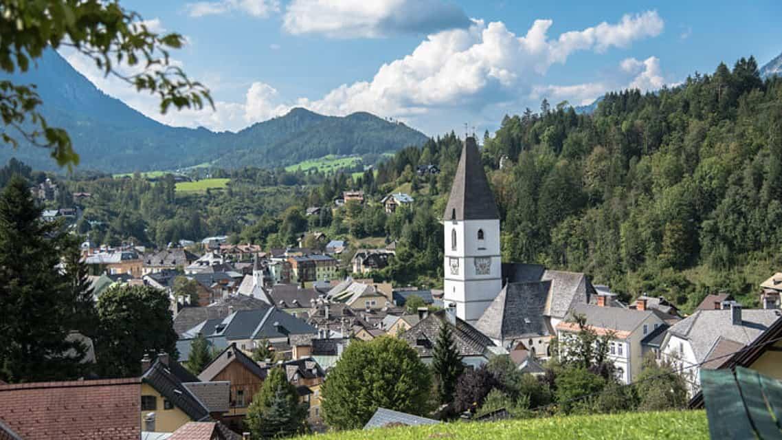 Bad Aussee Salzkammergut Semester i Österrike