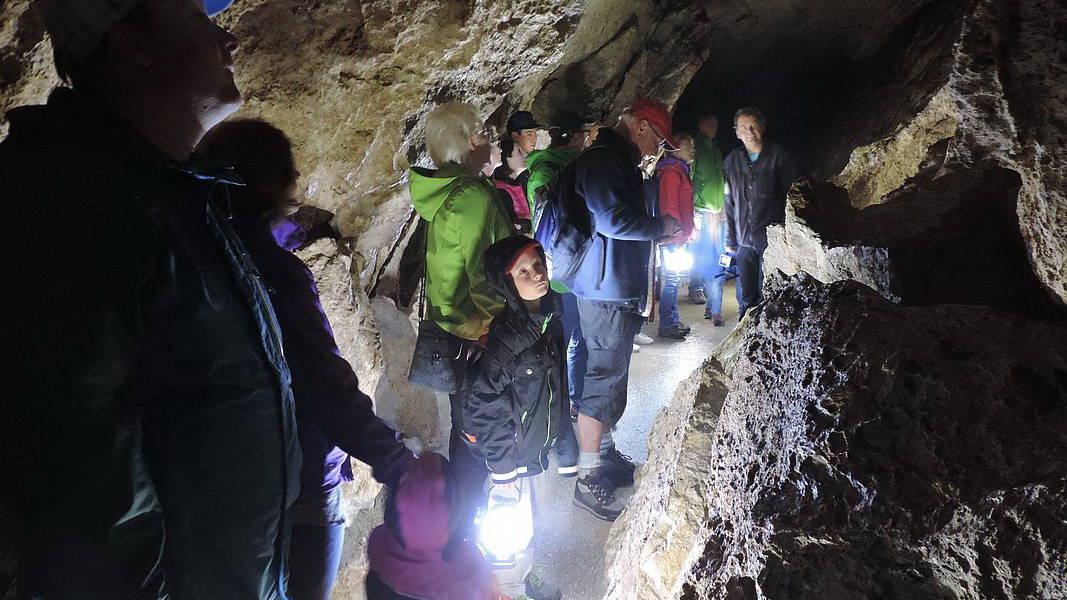 Koppenbrüller grottan Semester i Österrike