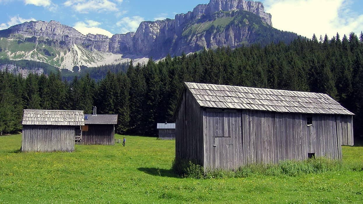 Blaa Alm med Loser © Austria Travel - Rusner semester i Österrike med Austria Travel