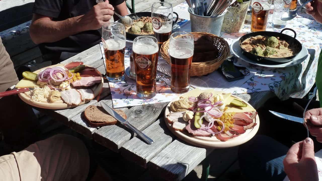 Härlig matpaus © Austria Travel - Rusner