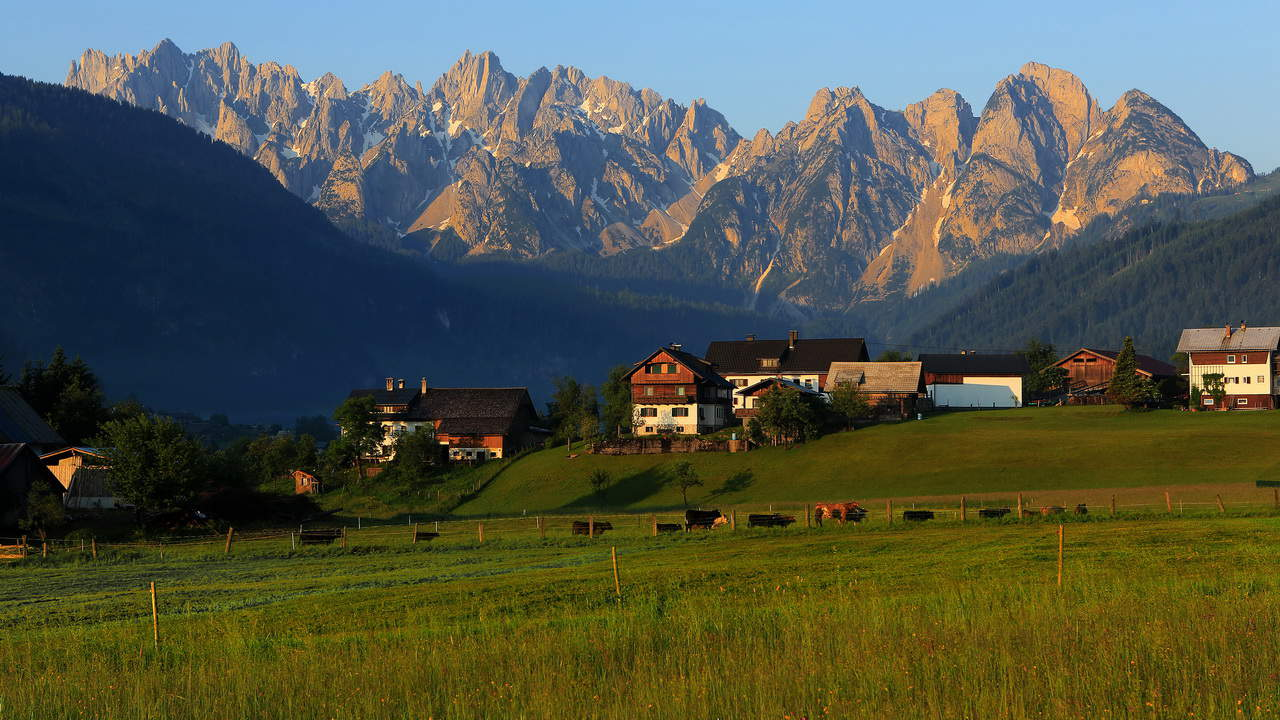 Boende i Gosau - Salzkammergut - Semester i Österrike - Austria Travel