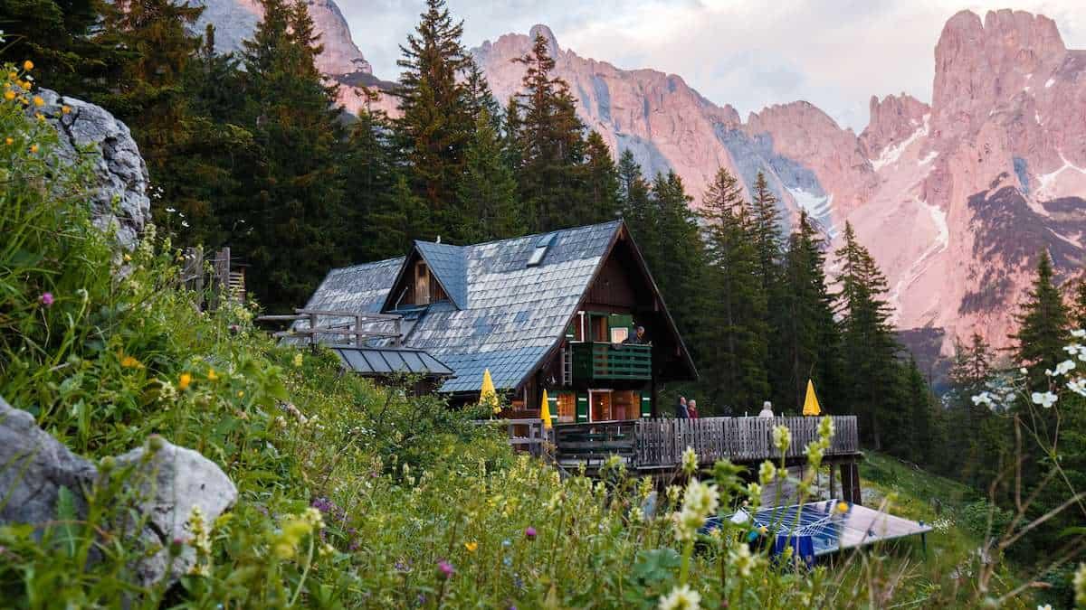 Theodor Körner Hütte vandring semester i Österrike