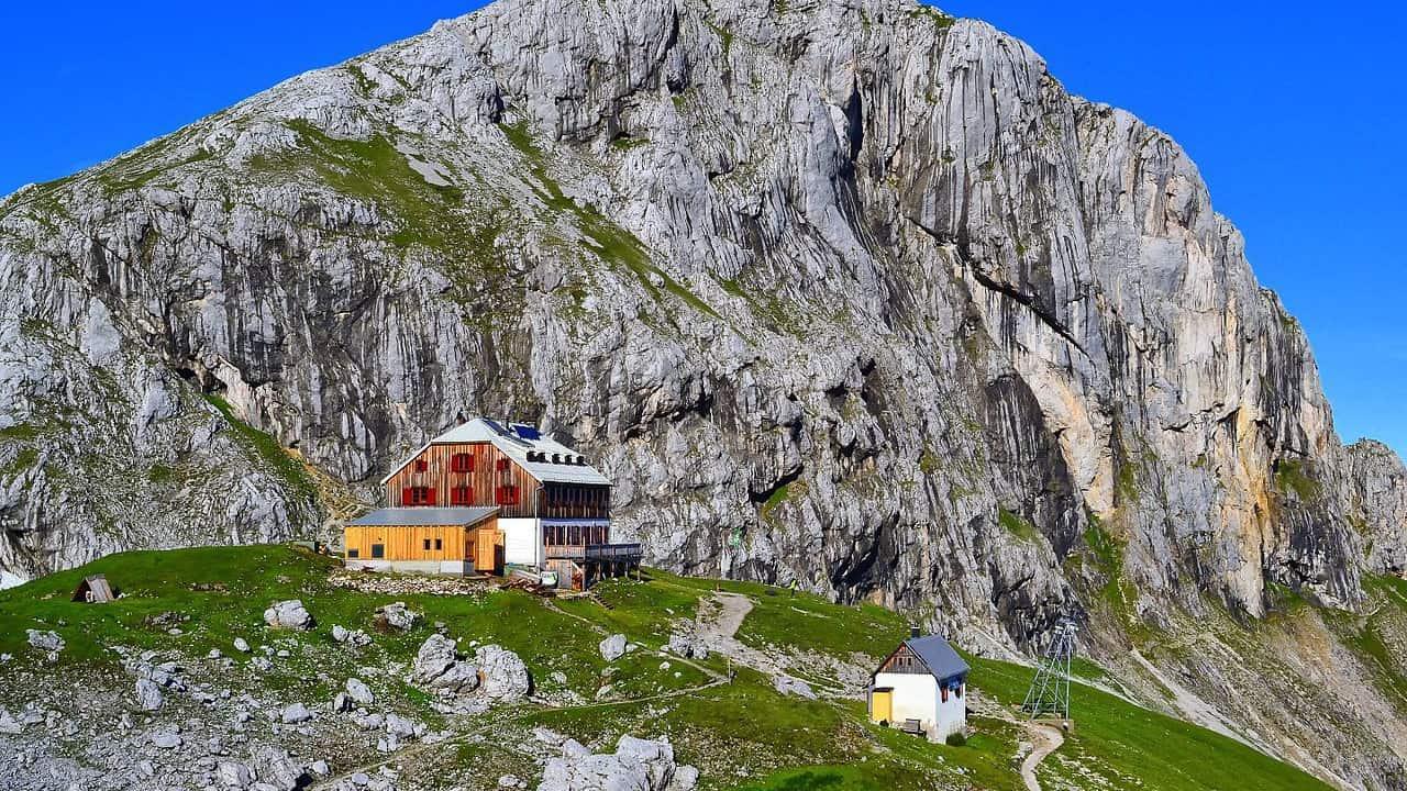 Guttenberghaus med Hausberg Sinabell Semester i Österrike