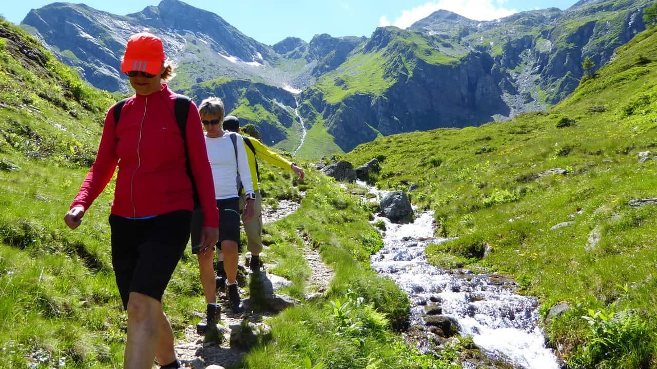 Nästan alla stigar är smala © Austria Travel - Rusner - semester i Österrike
