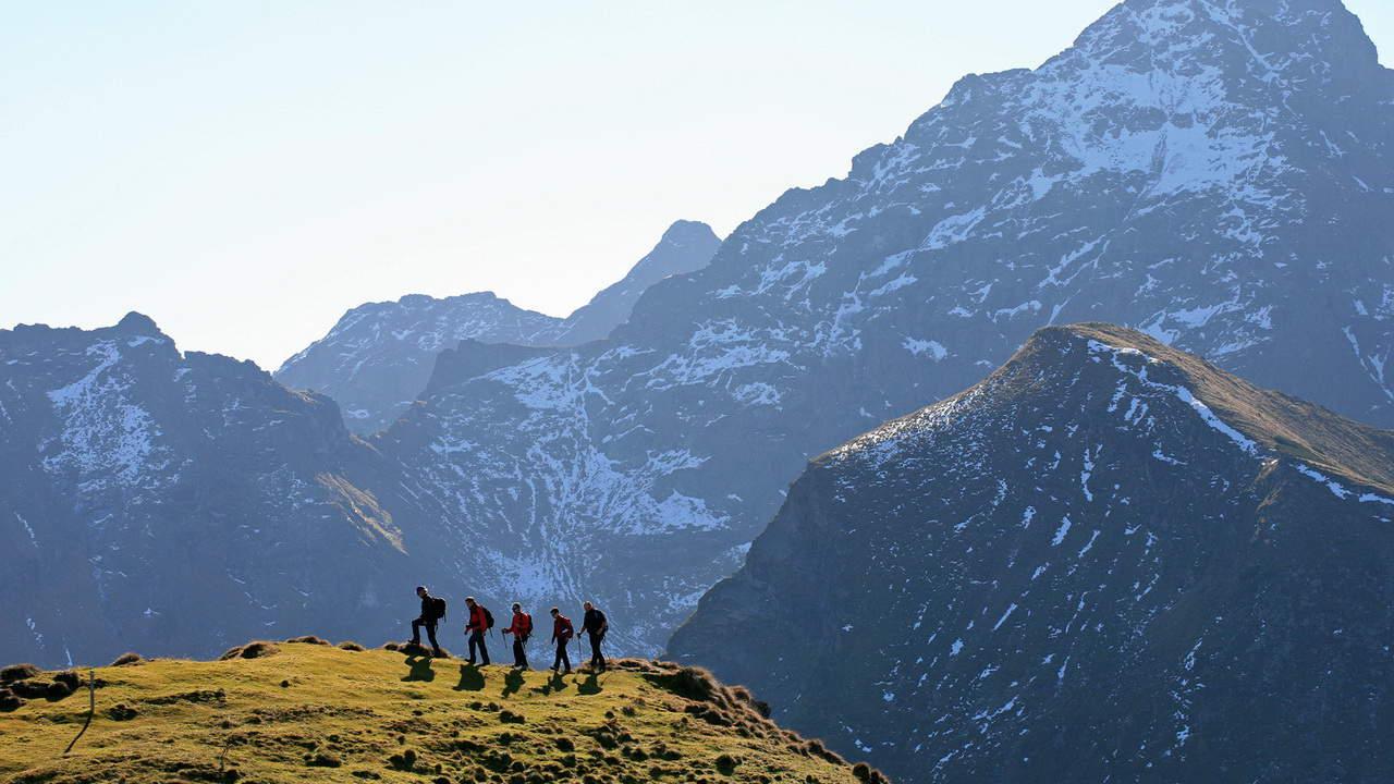Hochgolling vandring semester i Österrike