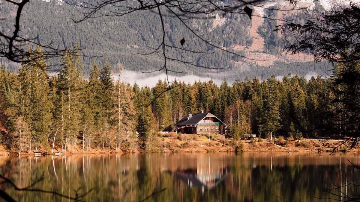 Ödensee Kohlroserlhütte vandring semester i Österrike