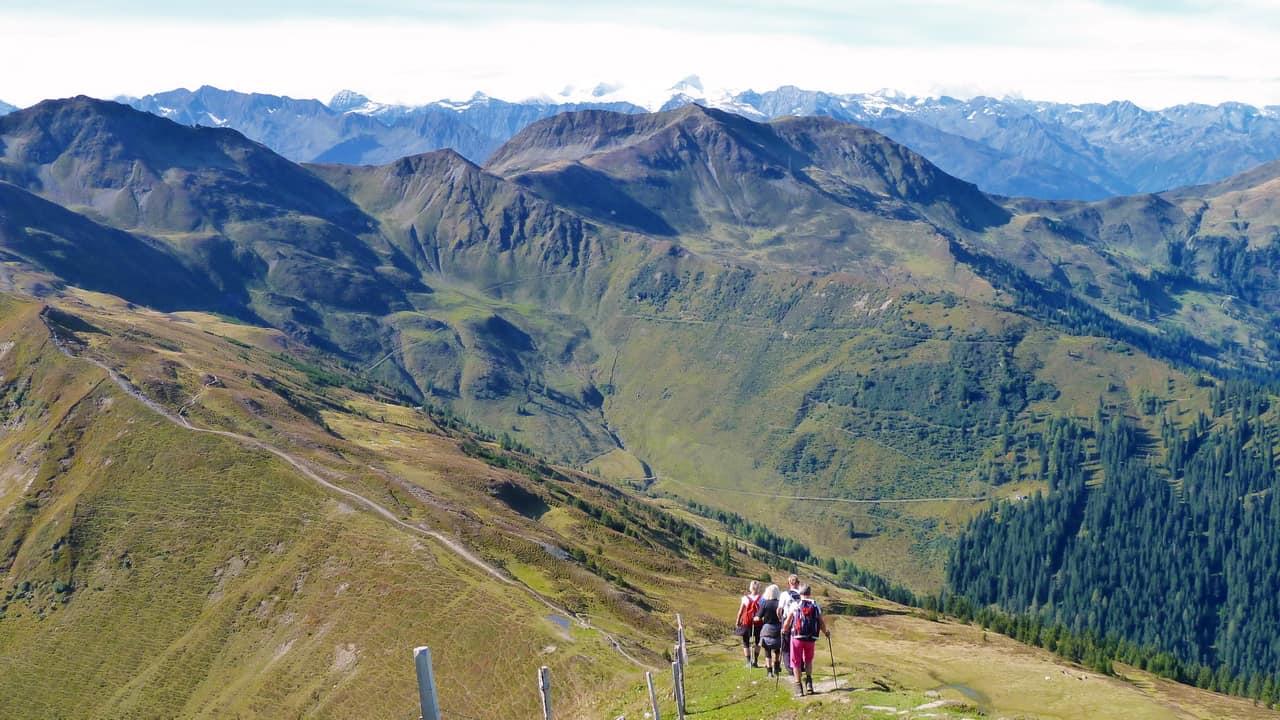 Vandring över Europas högsta gräsberg - Saalbach Hinterglemm © Austria Travel - Rusner