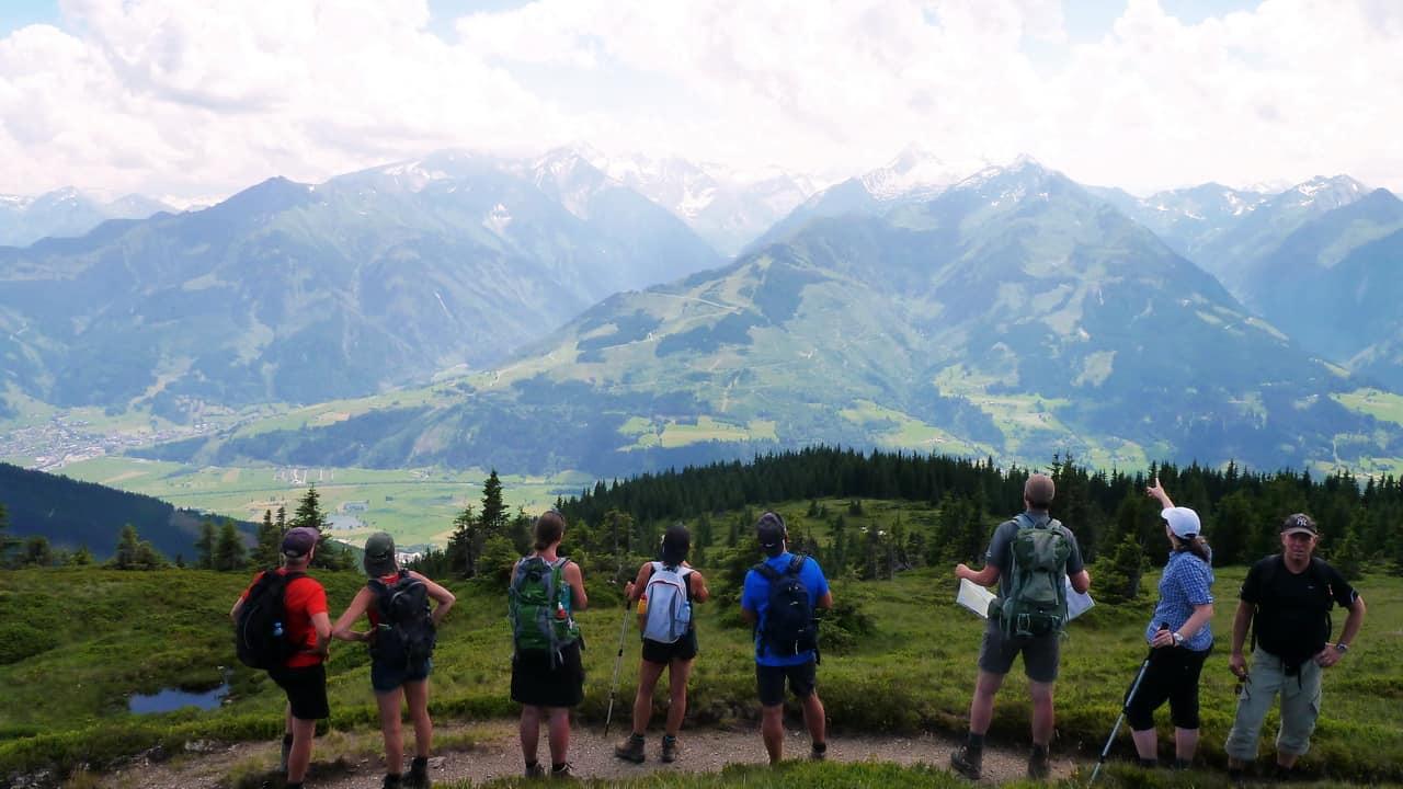 Vandring med guide Saalbach Hinterglemm till Zell am See © Austria Travel - Rusner