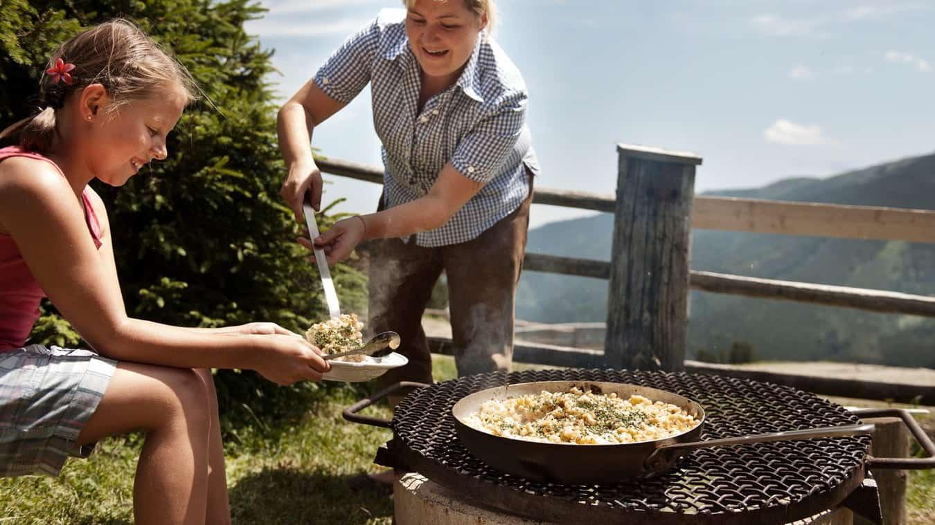 Kulinariska uppenbarelser - Spätzle - Semester i Österrike