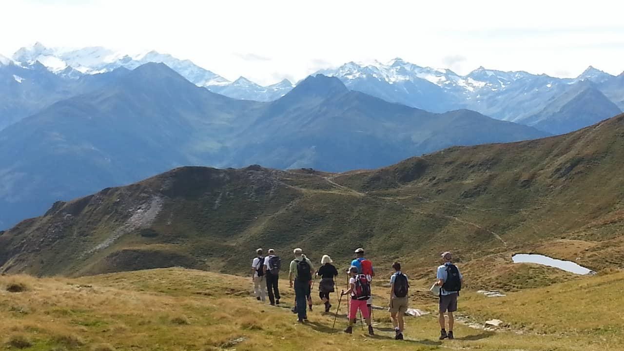 Vandring med guide Saalbach Hinterglemm © Austria Travel - Rusner