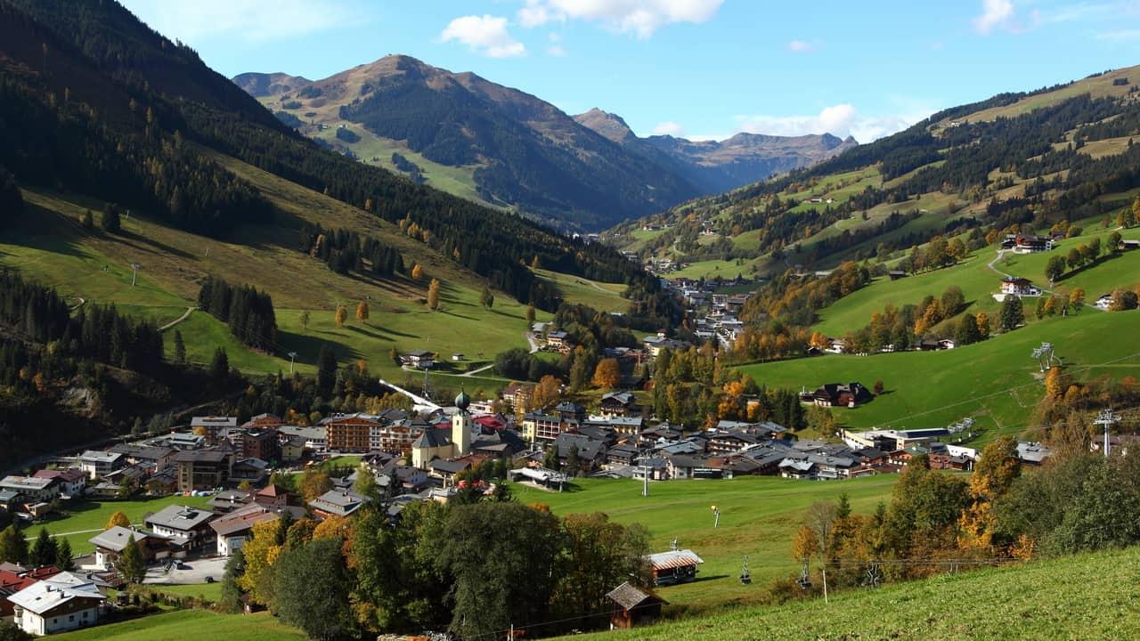 Saalbach Hinterglemm Semester i Österrike