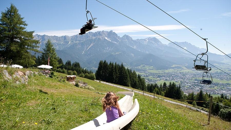 Sommerrodelbahn Saalfelden Semester i Österrike