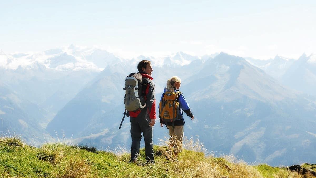 Vandra till Saalbach Hinterglemm Semester i Österrike