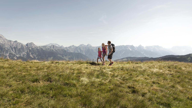 Saalachtaler Rundweg vandra vandring Zell am See Österrike