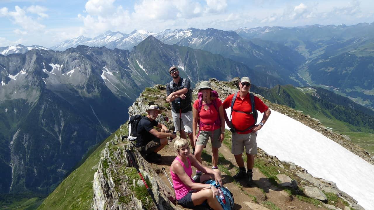Geschafft © Austria Travel - Rusner Zillertal Semester i Österrike