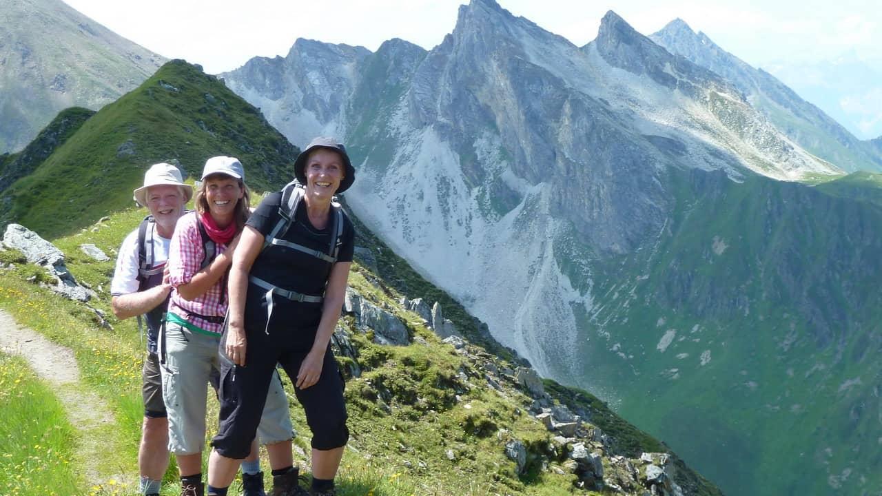 Vandra i vackra Zillertaler Alpen © Austria Travel - Rusner Semester i Österrike