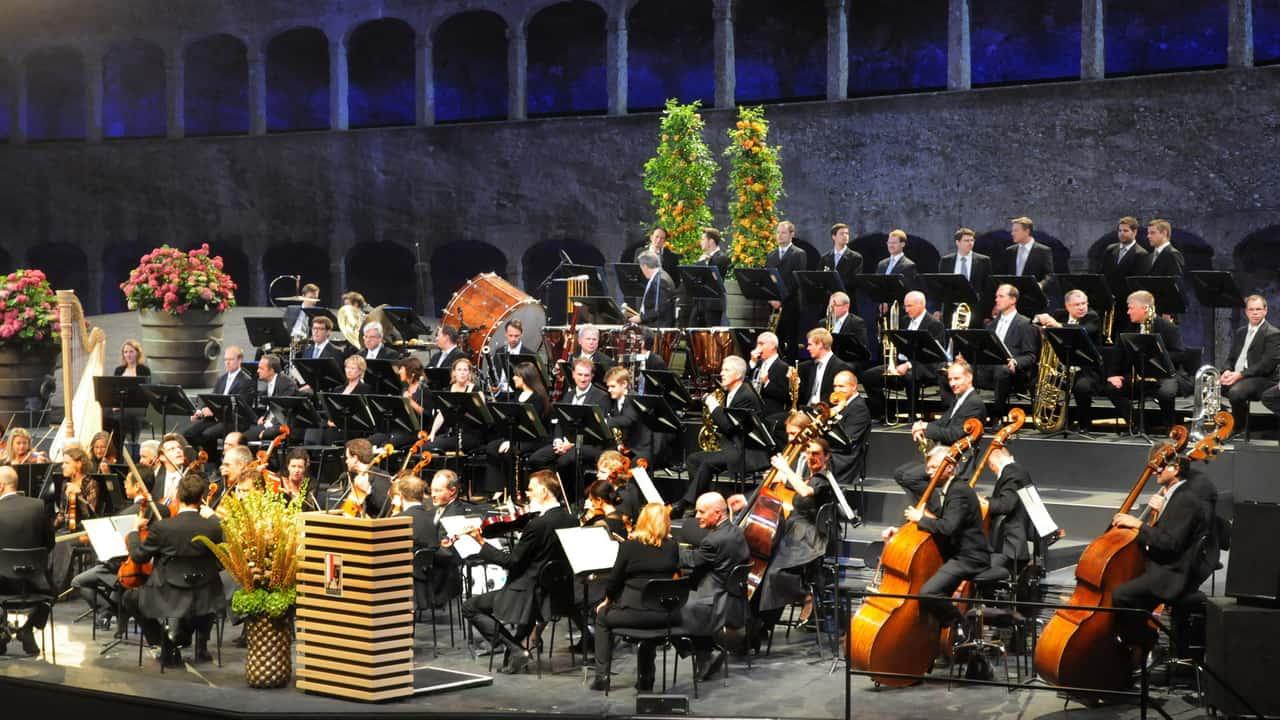 Felsenreitschule Salzburg Sound of Music konsert Von Trapps