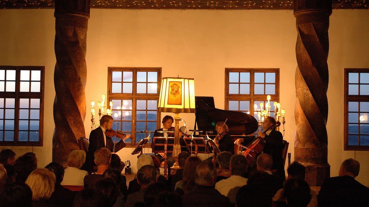 Mozart Konsert på fästningen Hohensalzburg i Salzburg - semester cykelsemester i Österrike