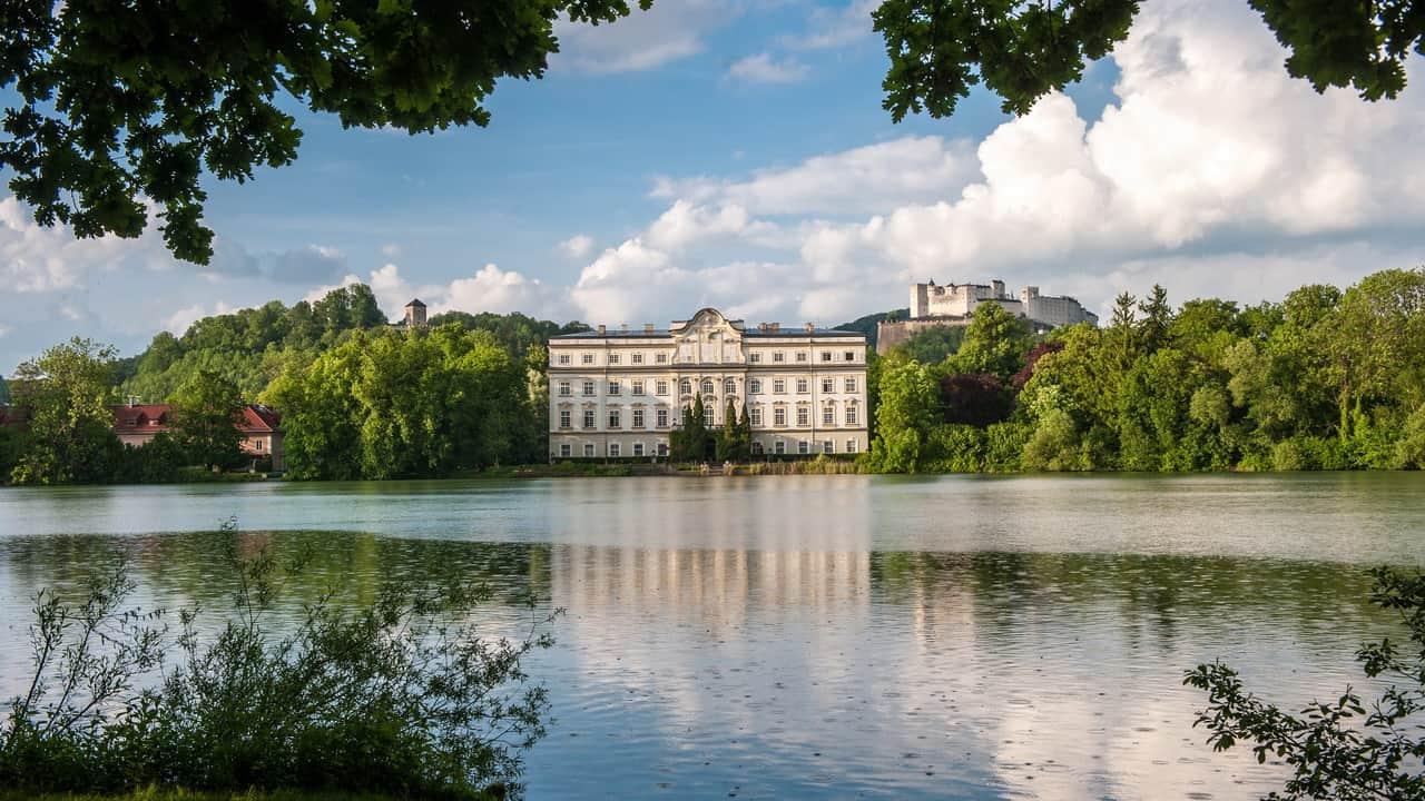 Schloss Leopoldskron Salzburg SOM Sound of music Von Trapps