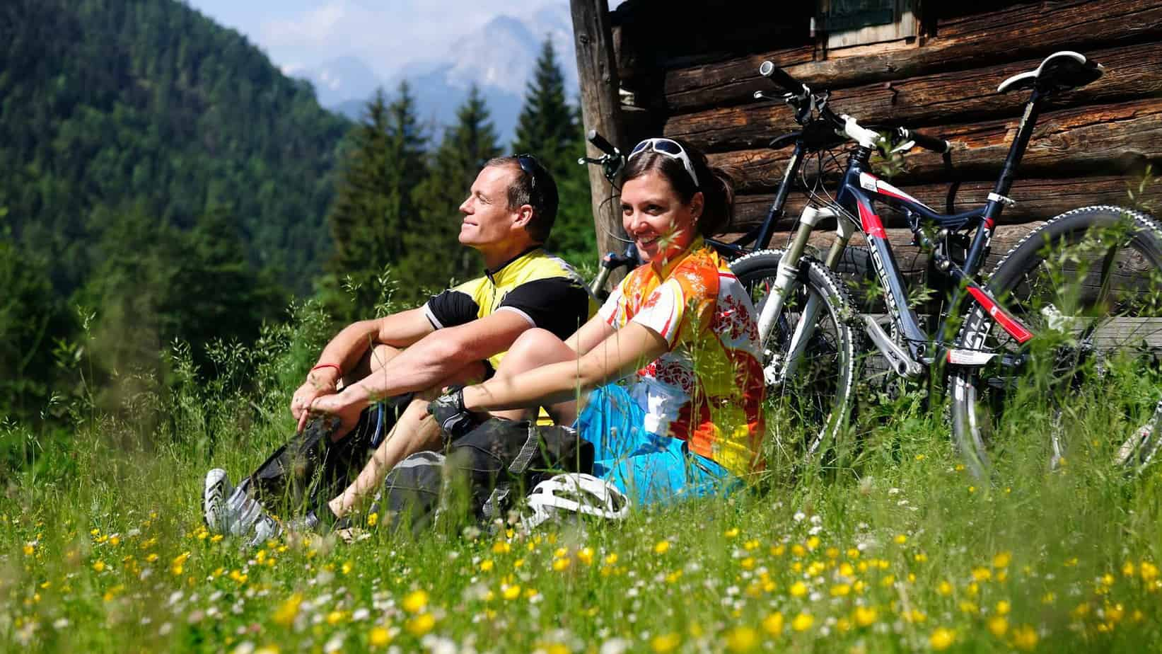 En liten paus på Watzmann-Hochkönig-rundan semester i Österrike