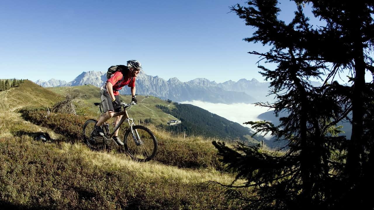 King Dachstein Biketour Österreich Österrike