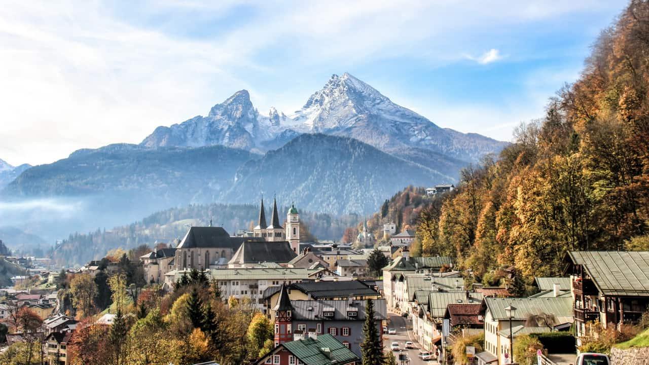 Berchtesgaden på hösten semester cykelsemester med Austria Travel Österrike