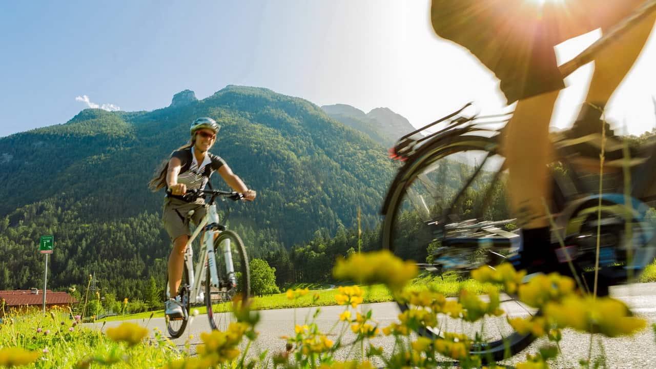 MTB Cykla utan bagage - Tauernradweg cykelsemester i Österrike